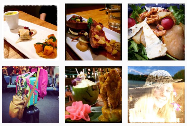Ruokablogi Sitruunaruoho on nyt myös Instagramissa!